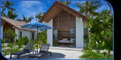 Hard Rock Hotel Maldives Gold Beach Villa