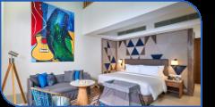 Hard Rock Hotel Maldives Silver Family Suite