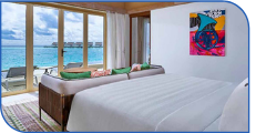 Hard Rock Hotel Maldives Rock Royalty Overwater Pool Villa