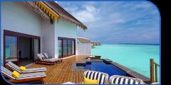 SAii Lagoon Maldives 2 Bedroom Overwater Pool Villa